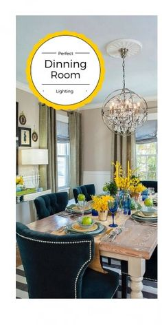 How To Choose the Best Size Chandelier for your Dining Room.