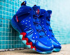 Nike Barkley Posite Max   76ers/Sixers | Release Reminder