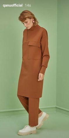 Hijab Office, Peplum Dress, High Neck Dress, Dresses, Fashion, Turtleneck Dress, Vestidos, Moda, Fashion Styles