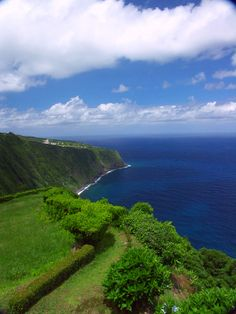 Azores, most the islands look like this, no McDonalds at this place,