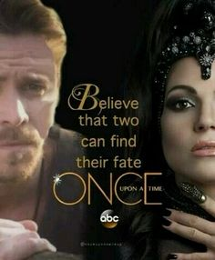 """❤️❤️❤️❤️OUTLAWQUEEN❤️❤️❤️❤️ Sean Maguire as Robin Hood and Lana Parrilla as The Evil Queen from the TV Show """"Once Upon A Time""""."""