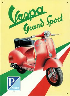 The Vespa an Italian icon  http://www.amazon.com/La-TAVOLA-Adventures-Misadventures-American/dp/1463618123
