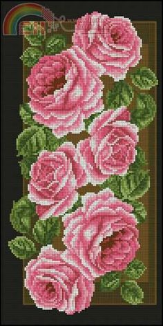 This Pin was discovered by Ber Cross Stitch Tree, Cross Stitch Borders, Cross Stitch Flowers, Cross Stitch Kits, Cross Stitch Designs, Cross Stitching, Cross Stitch Patterns, Beaded Embroidery, Cross Stitch Embroidery