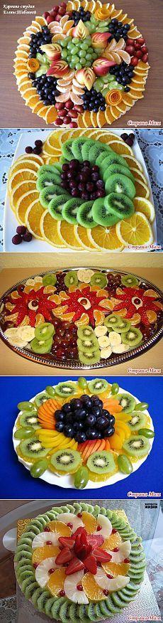 """Красивое оформление фруктовых нарезок – это просто!: Дневник группы """"Рецепты для очень занятой мамы"""" - Страна Мам"""
