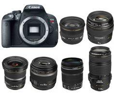 Best Lenses for Canon EOS 700D / Rebel T5i