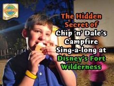 The Hidden Secret of the Campfire Sing-a-Long at the Fort Wilderness Resort & Campground | PassPorter Blogs