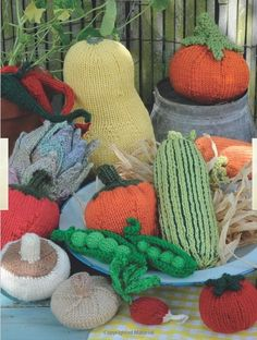Fruit knitting #knitting #crochet
