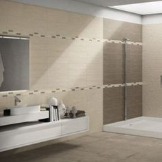 Piastrelle per rivestimento bagno e cucina effetto moderno naxos serie start - EDILVETTA Verona