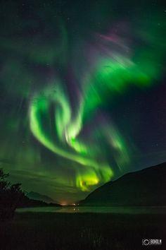 From the night of September 10, over Tromsø, Norway, by Jon-Eirik Boholm / Boholmphotography.