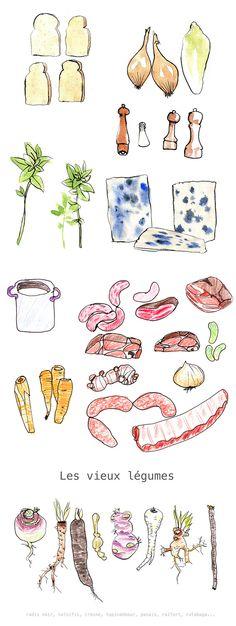 José Reis de Matos  Zonder vlees uiteraard, maar de manier van tekenen is leuk!