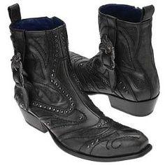 Mark Nason Men's Lewis Boots (Black)