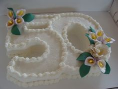 50th anniversary cake from Cynthia's Elegant Cakes and Pastries