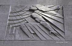 44 best Art Deco Reliefs images on Pinterest | Art deco art, Art ...
