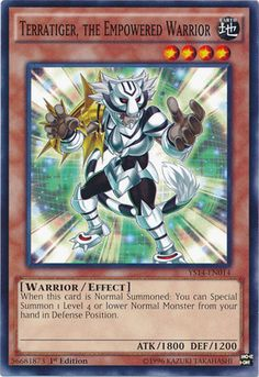 Yu-Gi-Oh! - Terra the Empowered Warrior (YS14-EN014) - Super Starter - Space-Time Showdown