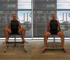 die besten 25 pilates chair ideen auf pinterest pilates. Black Bedroom Furniture Sets. Home Design Ideas