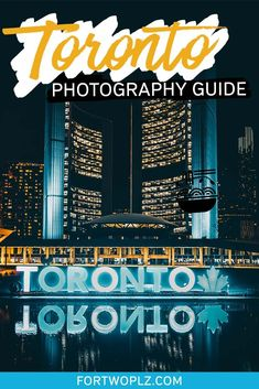 [Canada Travel] Toronto is one of the top cities to visit in North America. There are tons of things to do in Toronto Canada for photographers. This urban hub is filled with interesting places to see and pretty places to take photos. Check out this photography guide for all the best places to visit, top places to explore, and essential tips for instagrammers, photographers and videographers! #canadatravel #traveldestinations #explorecanada #toronto #ontario