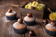 Rumos, gesztenyés muffin: masszából villámgyorsan elkészül Stevia, Muffins, Cupcake Cakes, Cupcakes, Food And Drink, Breakfast, Dessert Ideas, Food And Drinks, Food Food