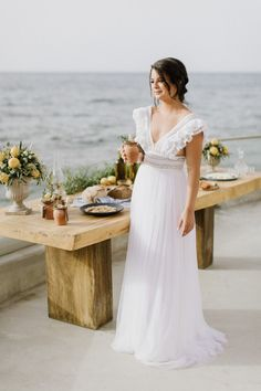 Gallery - Seafront Summer Wedding Inspiration Shoot In Greece