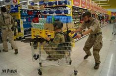 Military tactical shopping