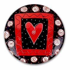 Share the Love Heart Plate