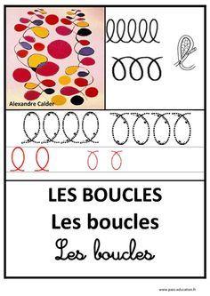 Boucles – Graphisme – Affichages pour la classe – Maternelle – PS – MS – GS – Pass Education