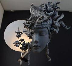 Obras de Yuanxing Liang- escultor Works of Yuanxing Liang- sculptor Modern Sculpture, Sculpture Clay, Baroque Sculpture, Metal Sculptures, Abstract Sculpture, 3d Prints, Portraits, Installation Art, Love Art