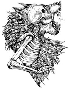 WolfSkullJack art https://t.co/36RVW6IIH1 #zeninsidezen https://t.co/WnzwagBnn3