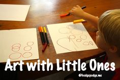 How to Start Art with Young Children
