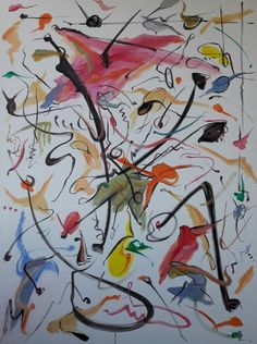 Dance me to the end of love / Acrílico sobre lienzo / 140cm x 105cm