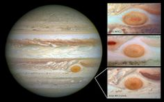 Jupiter's Great Red Spot Is Shrinking | Mashable