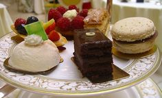 Afternoon Tea and Cakes at the Ritz, London