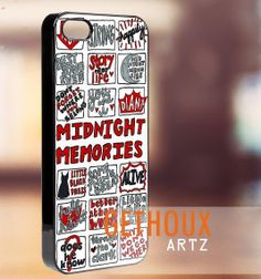 One Direction Midnight Memories  iPhone by Gethouxartz on Etsy, $15.00