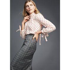 goop Label | Michelle Plaid Pencil Skirt | Goop - Goop Shop
