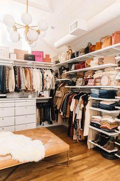 marvelous closet organization ideas - page 4 ~ Modern House Design Closet Walk-in, Closet Space, Walk In Closet, Closet Ideas, Closet Doors, Wardrobe Ideas, Master Bedroom Closet, Bathroom Closet, Master Bedrooms