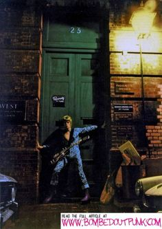 Revealed: The Ziggy Stardust Album Cover Location in London.