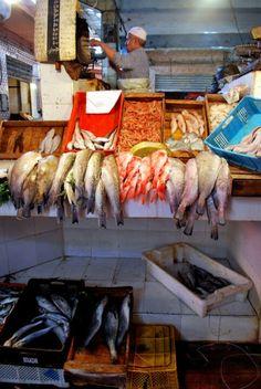 Fish Market - Marrekech, Morocco