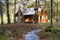 A Cabin in the   Woods | News | Log Cabin Homes