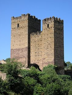 Castillo de Ruesta. Urries (Zaragoza), Spain