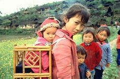 Kids in rural China