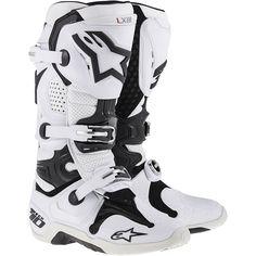 Alpinestars Tech 10 - 2015 MX Boots White Vented - V1MX