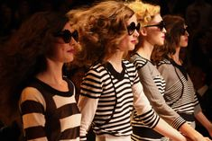 Sonia Rykiel sous le pont Alexandre III – Morning by Foley Fashion Now, Fashion Week, Fashion Details, Dita Von Teese, Sonia Rykiel, Pont Alexandre Iii, Big Sunglasses, White Chic, Thats The Way