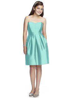 Junior Bridesmaid Dress JR522 http://www.dessy.com/dresses/junior-bridesmaid/jr522/#.Vi_7m_ys-rU