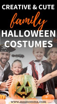 How to have an awesome halloween this year? These Halloween costumes are the perfect family Halloween costumes with a baby. Get inspiring ideas for baby and family Halloween costumes that will be loved by your older kids too! AWESOME Family costume ideas for Halloween - people are so creative! for families for 3 , for 4, for 5, for 6, for big families, with baby, large families, from easy DIY ideas to complex Halloween party winning costumes - these are must sees! #halloween #costumes… Baby Halloween Costumes For Boys, Family Costumes, Boy Costumes, Halloween Kids, Costume Ideas, Halloween Party, Sibling Costume, Cute Family, Family Life