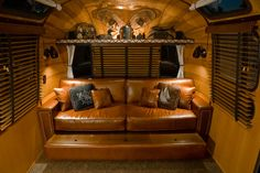 The Adirondack Airstream - Craig Dorsey - Picasa Web Albums - trundle bed detail