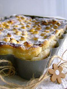 Milopita (Pastel griego de manzanas)