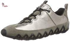Ecco  ECCO DAYLA, Derbies à lacets femmes - Gris - Grau (WARM GREY/WARM GREY METALLIC), 39 EU - Chaussures ecco (*Partner-Link)