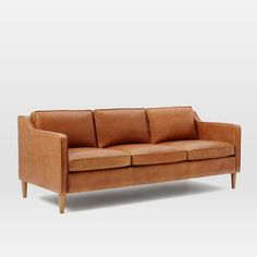 We've always been fans of the classic look of leather furniture. Before moving in to our new place, we had planned what pieces we were going to bring along from our old apartment as well as some new purchases. On the top of that list of new purchases was our leather sofa. It was a …