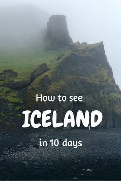 Iceland is a small European country but boasts endless adventures, this post shows you how I saw the whole country in 10 days.