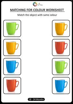 Color Worksheets For Preschool, Preschool Colors, English Worksheets For Kids, Preschool Learning Activities, Free Preschool, Color Activities, Math Worksheets, Community Helpers Worksheets, Kindergarten Songs