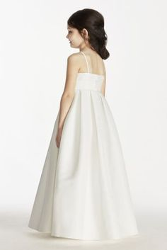 This faille strapless ball gown with sweetheart neckline features pleating  on the bodice and an empire waist. Available nbsp online in Soft White. faa3aaa673eb